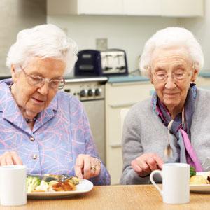 women-eating-lunch