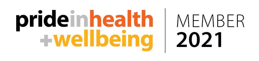 Pride in health + wellbeing member